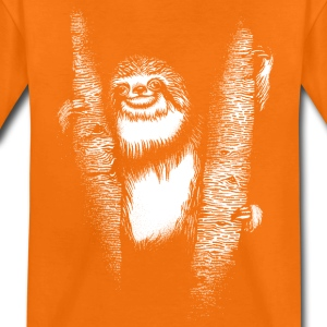 Orange Sloth Tee shirts - T-shirt Premium Ado