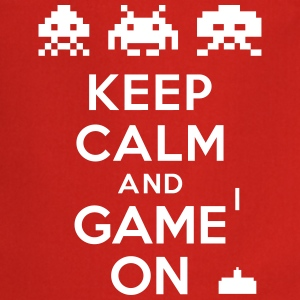 Keep calm and game on Tabliers - Tablier de cuisine