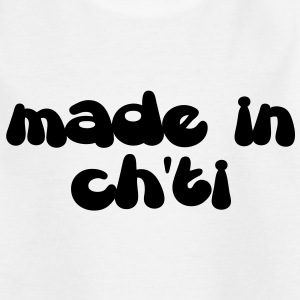Made in ch'ti - T-shirt Enfant