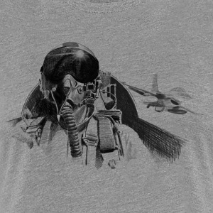 Fighter pilot T-Shirts - Women's Premium T-Shirt