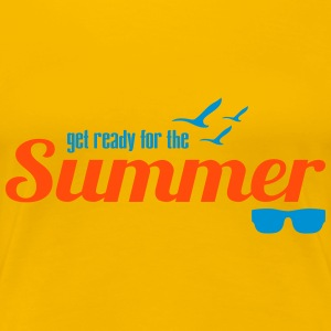 Ready for Summer - Frauen Premium T-Shirt