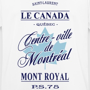 Le Canada - Centre-ville de Montréal T-Shirts - Men's Breathable T-Shirt