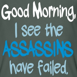 Assassins have Failed T-shirts - Ekologisk T-shirt herr