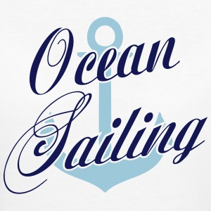 Ocean Sailing Anchor T-Shirts - Women's Organic T-shirt
