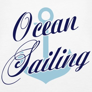 Ocean Sailing Anchor Tops - Women's Premium Tank Top