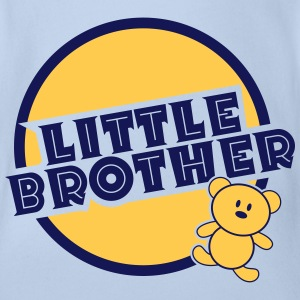 Little Brother Magliette - Body ecologico per neonato a manica corta
