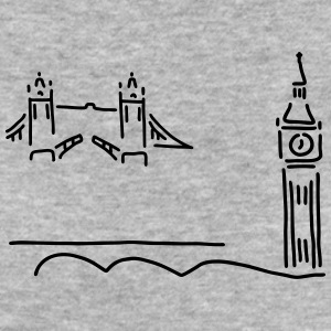 london tower bridge big ben - Frauen Bio-T-Shirt