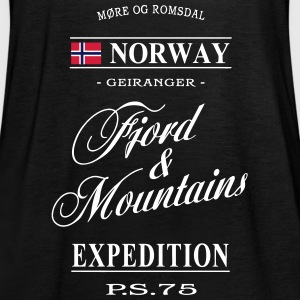 Norway - Fjord & Mountains Tops - Women's Tank Top by Bella