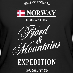Norway - Fjord & Mountains T-Shirts - Women's Organic T-shirt