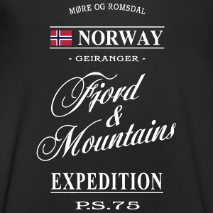 Norway - Fjord & Mountains T-Shirts - Men's V-Neck T-Shirt