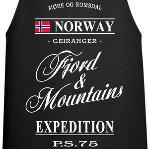 Norway - Fjord & Mountains  Aprons - Cooking Apron
