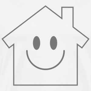 Smiley House Tee shirts - T-shirt Premium Homme