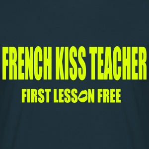 French Kiss Teacher - T-shirt Homme