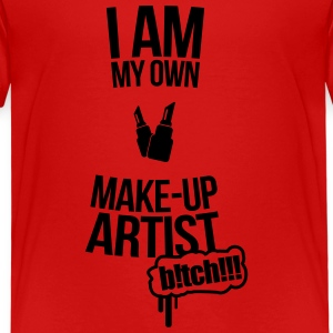 I am my own makeup artist Baker Shirts - Kids' Premium T-Shirt