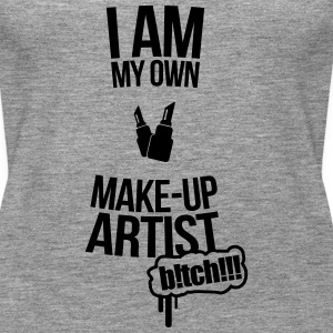 I am my own makeup artist Baker Tops - Women's Premium Tank Top