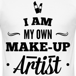 I am my own makeup artist T-Shirts - Men's Slim Fit T-Shirt