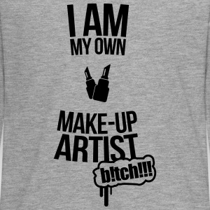 I am my own makeup artist Baker Long Sleeve Shirts - Teenagers' Premium Longsleeve Shirt
