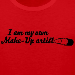 I am my own makeup artist Tank Tops - Men's Premium Tank Top