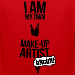 I am my own makeup artist Baker 2f Tank Tops - Men's Premium Tank Top