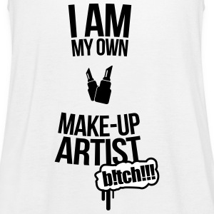 I am my own makeup artist Baker 2f Tops - Women's Tank Top by Bella