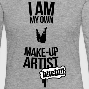 I am my own makeup artist Baker 2f Long Sleeve Shirts - Women's Premium Longsleeve Shirt