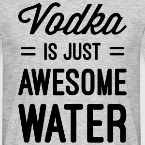 Vodka Awesome Water  T-shirts - Herre-T-shirt