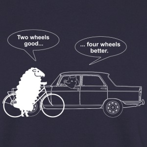 Bicycle vs Car Sweaters - Mannen sweater