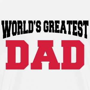 World's greatest Dad T-skjorter - Premium T-skjorte for menn