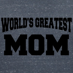 World's greatest Mom Magliette - Maglietta da donna scollo a V