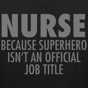 Nurse - Superhero Tank Tops - Men's Premium Tank Top