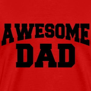 Awesome Dad Camisetas - Camiseta premium hombre