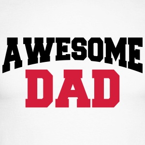 Awesome Dad Manches longues - T-shirt baseball manches longues Homme