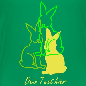 three rabbits Shirts - Kids' Premium T-Shirt