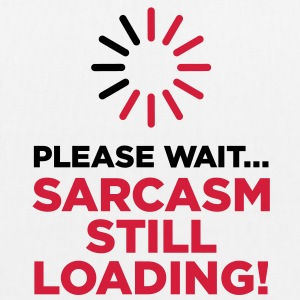 Please wait. Sarcasm Loading ... Bags & Backpacks - EarthPositive Tote Bag