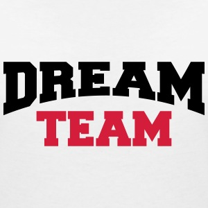 Dream Team T-shirts - T-shirt med v-ringning dam