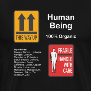 Human Being T-Shirts - Men's Premium T-Shirt