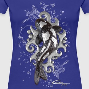 Koi in water - Women's Premium T-Shirt