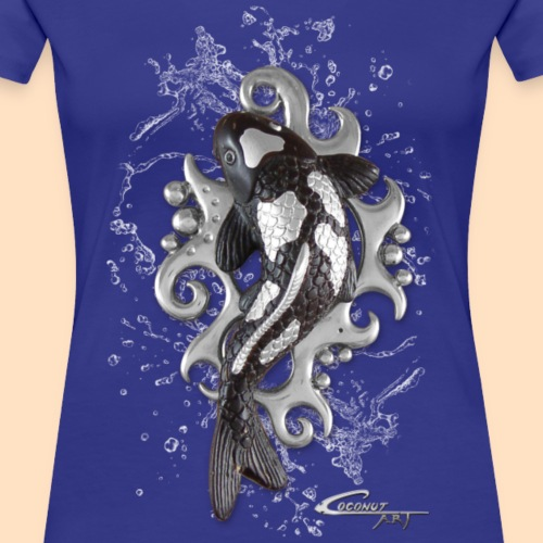 Koi in water - logo