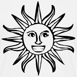 summer sun sunbeam good mood holidays T-Shirts - Men's T-Shirt