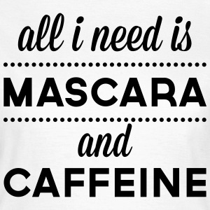 Mascara And Caffeine  Tee shirts - T-shirt Femme