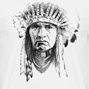 Indian T-shirts - T-shirt herr