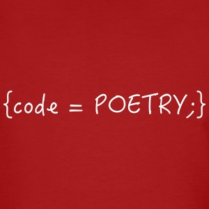 Code is poetry - Männer Bio-T-Shirt