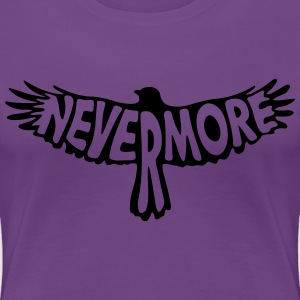 Nevermore T-Shirts - Frauen Premium T-Shirt