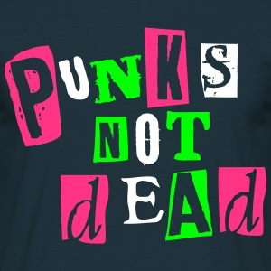 PUNKS NOT DEAD - T-shirt Homme