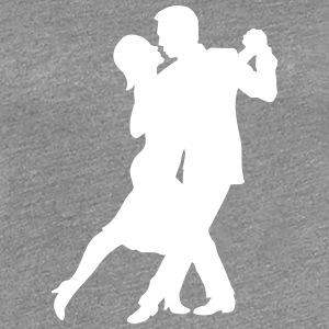 Tango Couple T-Shirts - Frauen Premium T-Shirt