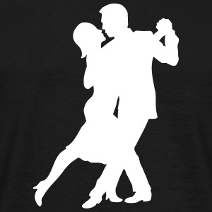 Tango Couple T-Shirts - Men's T-Shirt