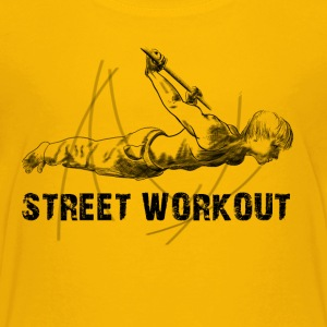street workout Shirts - Teenage Premium T-Shirt