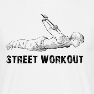 street workout T-shirts - Mannen T-shirt
