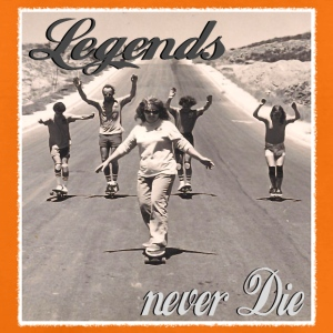 Longboard Legends never Die - The Logan Family T-Shirts - Kinder Premium T-Shirt