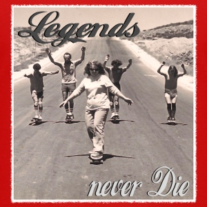 Longboard Legends never Die - The Logan Family T-Shirts - Teenager Premium T-Shirt